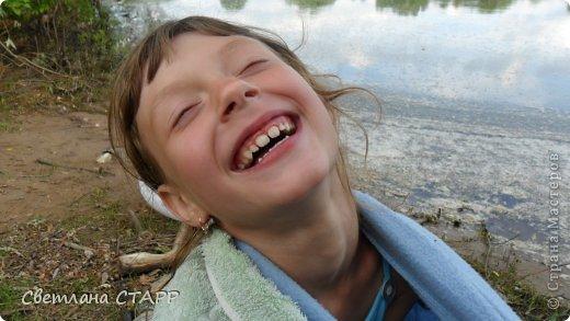В первый раз Маша купается в этом году! фото 6