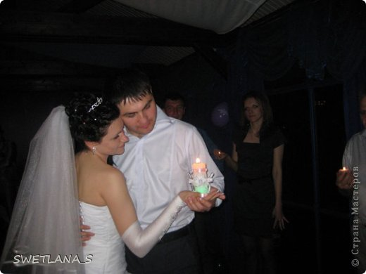 Вот такие свечи я сотворила на свадьбу дочери фото 6