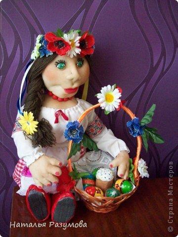 Тарас и Галочка.Мои первые каркасные куклы. фото 3