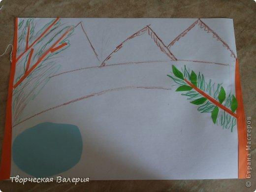 Вот что получится в конце Нам понадобится: 1.зоологические печенья 2.бумага 3.клей 4.ножницы 5.краски 6.цветные мелки фото 4