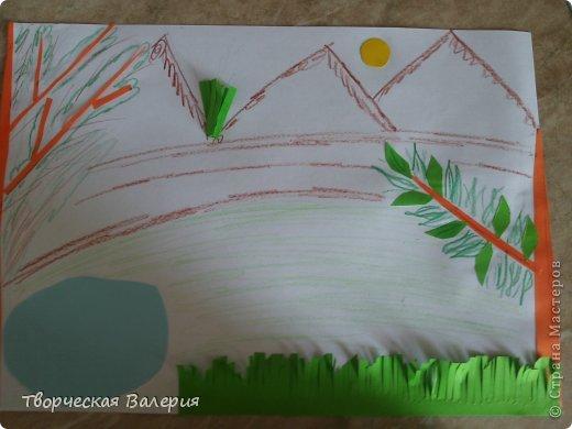 Вот что получится в конце Нам понадобится: 1.зоологические печенья 2.бумага 3.клей 4.ножницы 5.краски 6.цветные мелки фото 5