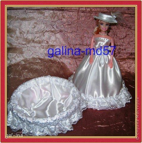 Кукла-шкатулка Невеста фото 3