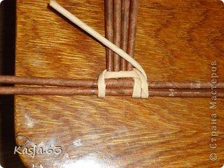 Плетение МК полукруглого дна Трубочки бумажные фото 4