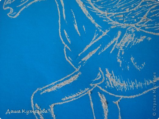 Лошадка на картоне фото 2