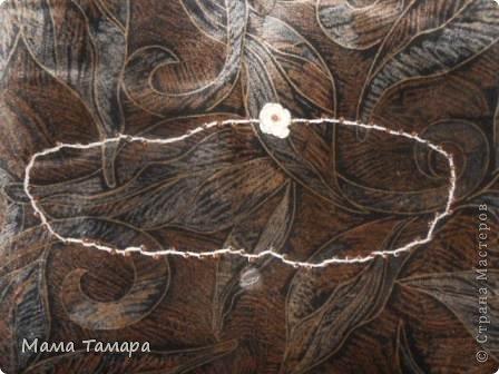"""шарфик из магазина, в просторечии называемого """"все по 37"""", превратился вот в такую украшалку!  фото 4"""