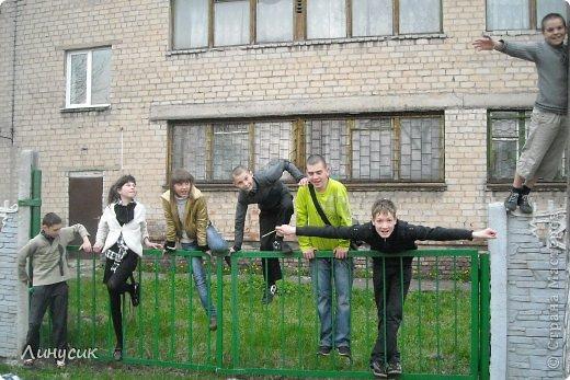 Это мой класс - Влад, Оля, Саша, Ярик, Сережка. И на переднем плане - Наташка и Валик. фото 2