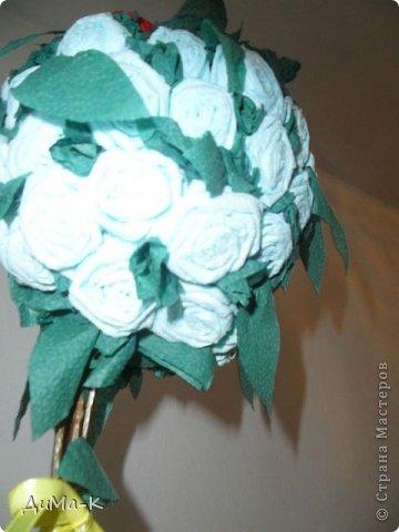 Топиарий  розы. фото 2
