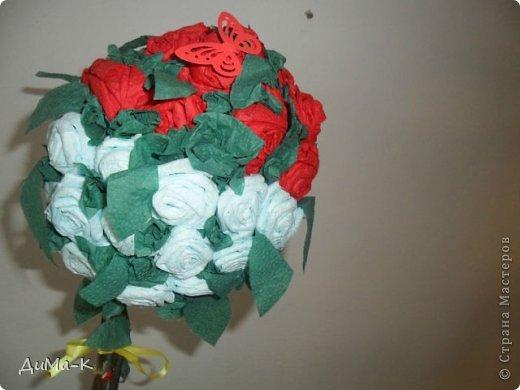 Топиарий  розы. фото 3