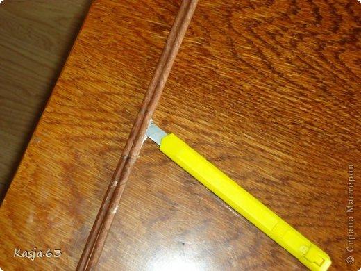 Плетение МК полукруглого дна Трубочки бумажные фото 2