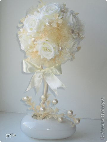 Вот такое, свадьба цвета айвори... Может и не правильно, но уж больно название красивое))))) фото 1