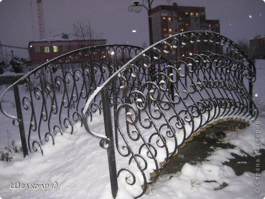Зима была очень долгая, но очень красивая. фото 1