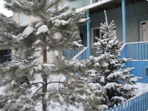 Зима была очень долгая, но очень красивая. фото 36