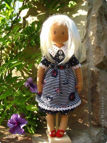 Текстильная кукла Элиза фото 3