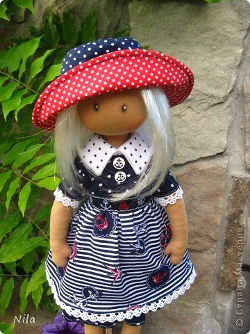 Текстильная кукла Элиза фото 2
