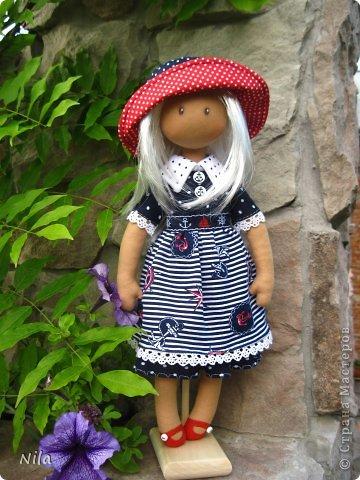 Текстильная кукла Элиза фото 1