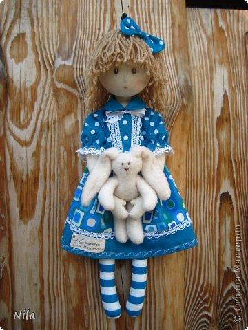 Текстильная кукла Элиза фото 4
