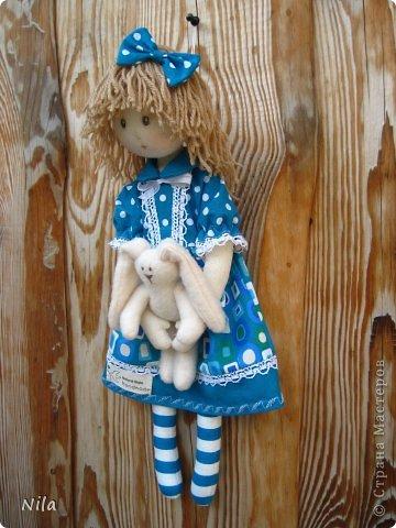 Текстильная кукла Элиза фото 5