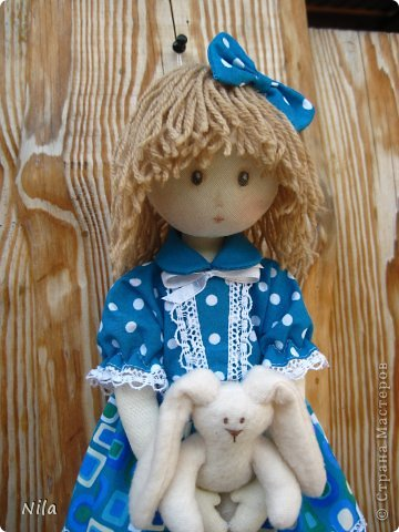 Текстильная кукла Элиза фото 6