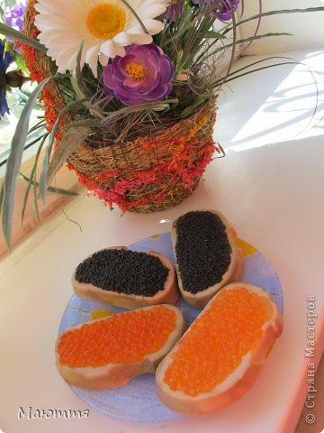 Добро пожаловать на бутербродики! правда, кушать их нельзя, они - из мыла)) фото 1