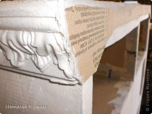 Интерьер Мастер-класс Картонаж Камин из картона Сказка 3 в 1 + МК Бумага Картон гофрированный фото 14