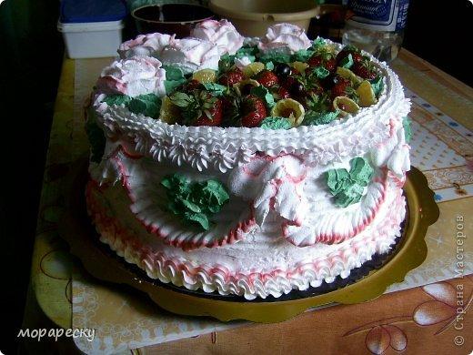 Сестра мужа испекла мне тортище:) фото 3