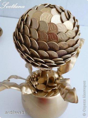 Вот наконец то и я добралась до монетных чашечек и деревьев. фото 6