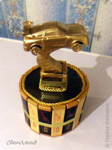Вот такая вот золотая машинка получилась фото 1