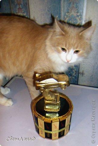Вот такая вот золотая машинка получилась фото 2