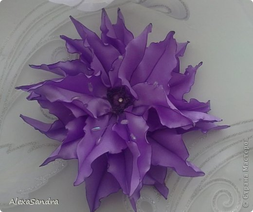 Выставляю свои цветочки - все повторяла по МК Страны, спасибо!. Первые - одуванчики, когда увидела МК в одноклассниках, загорелась повторить! фото 7