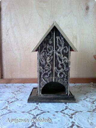 первый чайный домик! смешненький, кривокосенький, ну ничего... на дачке постоит!!!))) фото 12