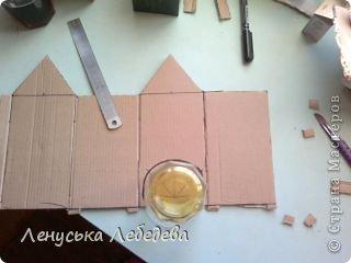 первый чайный домик! смешненький, кривокосенький, ну ничего... на дачке постоит!!!))) фото 4