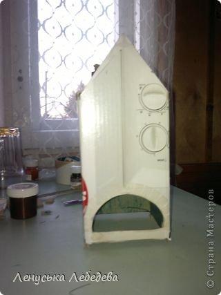 первый чайный домик! смешненький, кривокосенький, ну ничего... на дачке постоит!!!))) фото 5