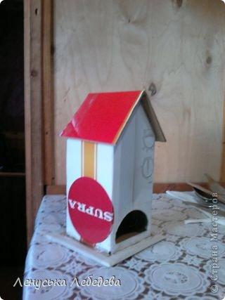 первый чайный домик! смешненький, кривокосенький, ну ничего... на дачке постоит!!!))) фото 8