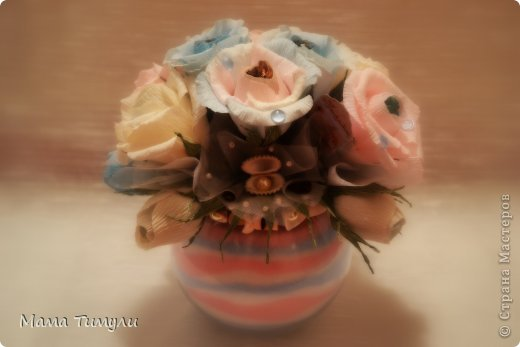 Здравствуйте, мои дорогие!Вот заказ для женщины ,просили морскую тему,Но что-то мне в нем не нравится,может цветы надо было положить? фото 7