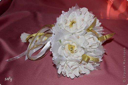 Ручной букетик для невесты фото 1