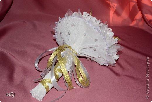 Ручной букетик для невесты фото 2