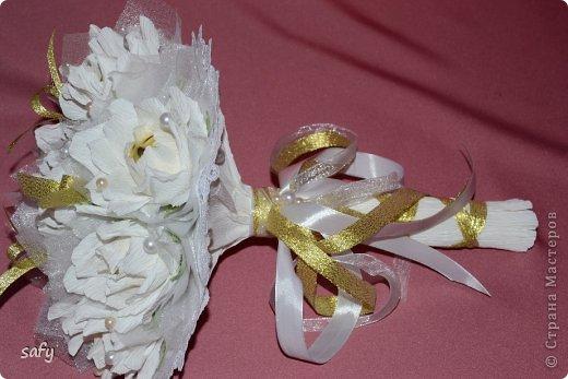 Ручной букетик для невесты фото 3