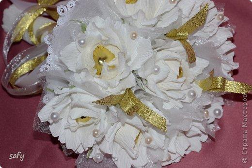 Ручной букетик для невесты фото 4