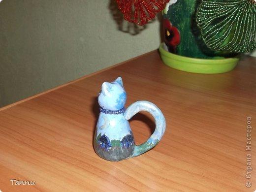 Вот такого котика слепила сестре из соленого теста - она коллекционирует котеек. домик, под звездным небом. фото 2