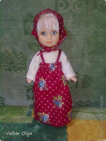 Попалась мне в руки вот такая лысая куколка в рваном платьице. Присмотрелась - симпотяжка! Надо было срочно реанимировать. фото 3