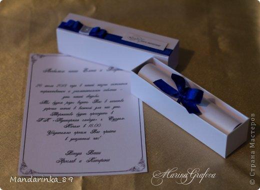 Свадебные приглашения фото 4