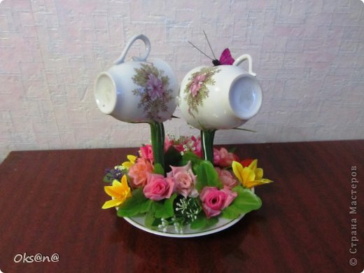 Чашечки с сердечком фото 2