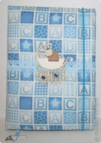 Дневник мамы (девочке)  Формат А5 в мягкой обложке, свыше 80 листов, вставки с декором для фотографий. Коробочка для хранения. фото 7