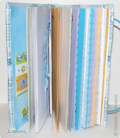 Дневник мамы (девочке)  Формат А5 в мягкой обложке, свыше 80 листов, вставки с декором для фотографий. Коробочка для хранения. фото 11