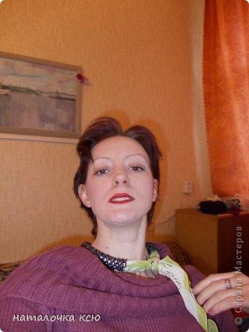 увидело на сайте шарфики и влюбилась!наплела себе ! фото 2