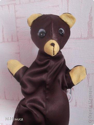 В детском саду попросили сшить для кукольного театра медведя.   фото 1