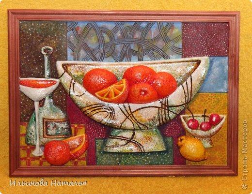 Всем доброго времени суток! =)  Разрешите представить - панно с чайниками =) В интернете увидела такую иллюстрацию. Не помню что это было, рисунок или чье-то панно. Очень понравилось оригинальностью. Каждый чайничек, как геометрическая фигурка =))) фото 2