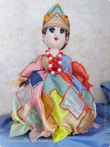 Такие Куклы-грелки да чайник часто выручают меня, когда срочно нужен подарок.   фото 1