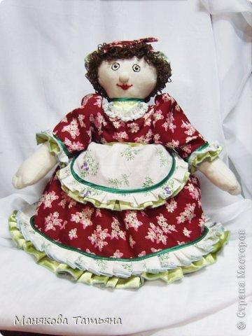 Такие Куклы-грелки да чайник часто выручают меня, когда срочно нужен подарок.   фото 22