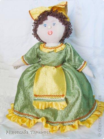 Такие Куклы-грелки да чайник часто выручают меня, когда срочно нужен подарок.   фото 23